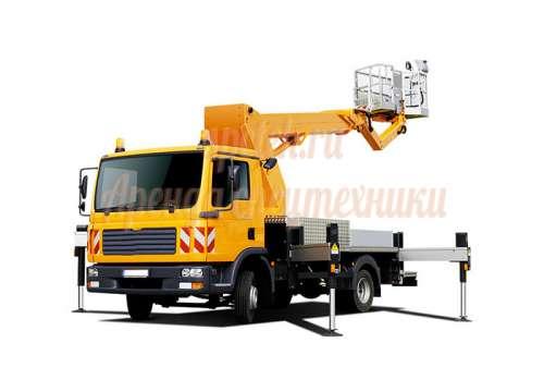 Автовышка 20 метров на базе микроавтобуса